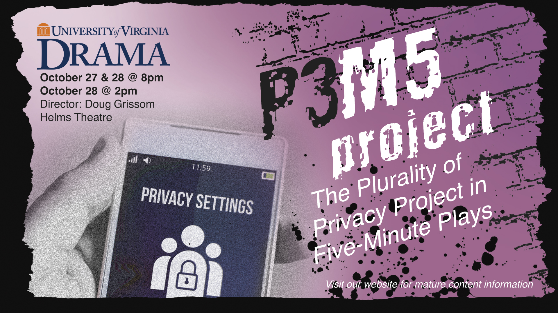 P3M5 Promotional Poster